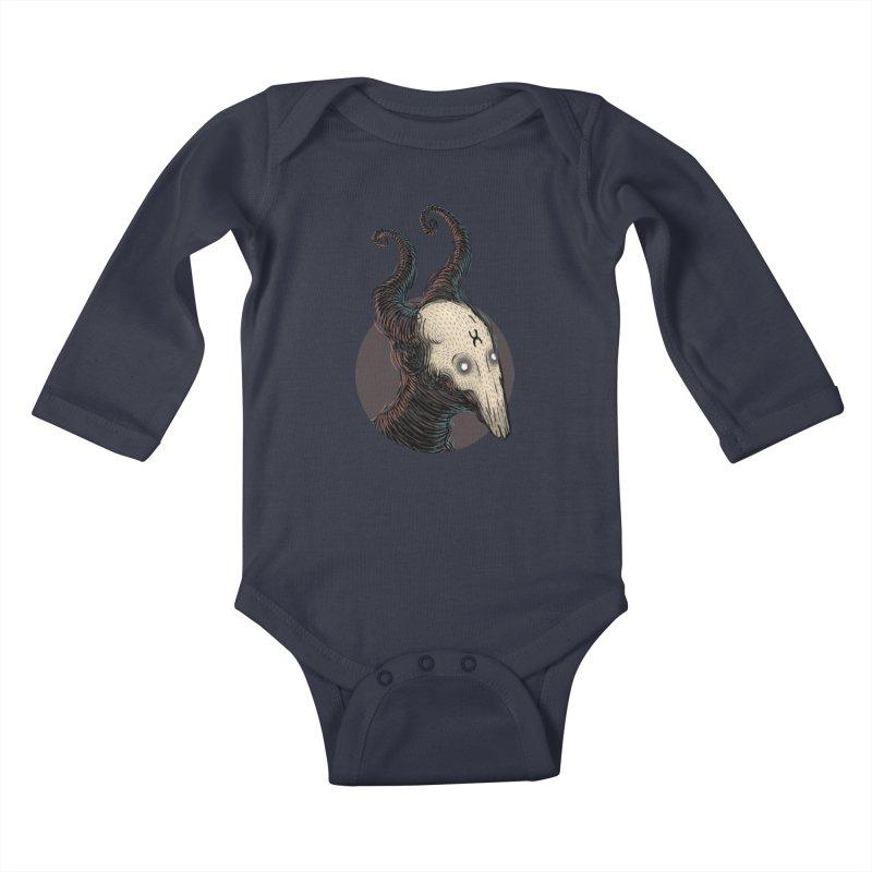 YoungDevilTShi Kids Baby Longsleeve Bodysuit by creativosindueno's Artist Shop