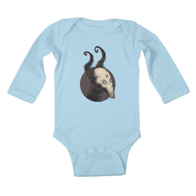 YoungDevilTShi Kids Baby Longsleeve Bodysuit by creativosindueno's Artist Shop