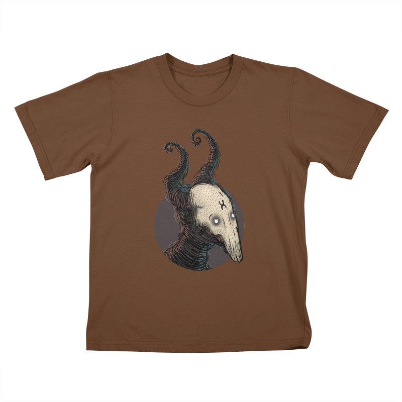 YoungDevilTShi Kids T-Shirt by creativosindueno's Artist Shop