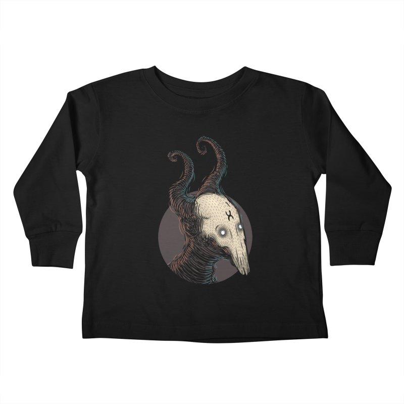 YoungDevilTShi Kids Toddler Longsleeve T-Shirt by creativosindueno's Artist Shop