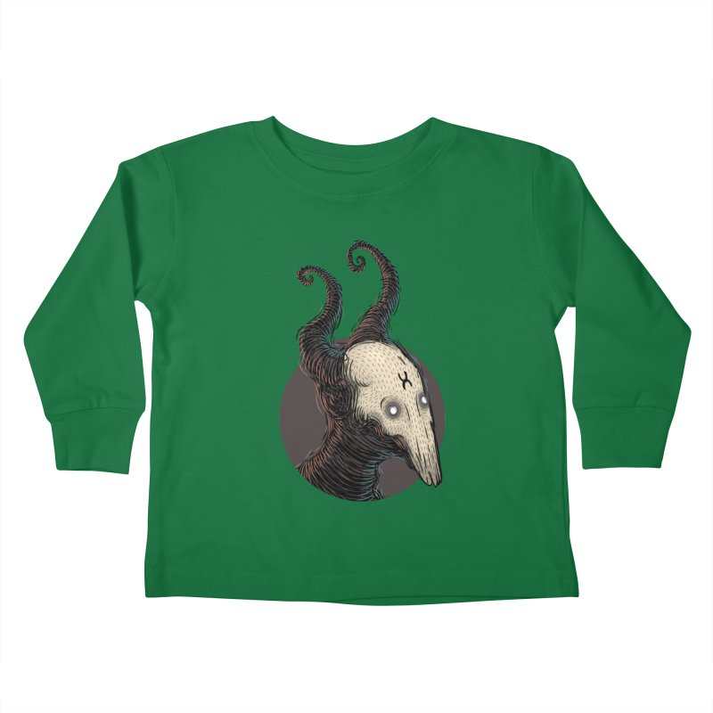 YoungDevilTShi Kids Toddler Longsleeve T-Shirt by creativosindueno's Artist Shop