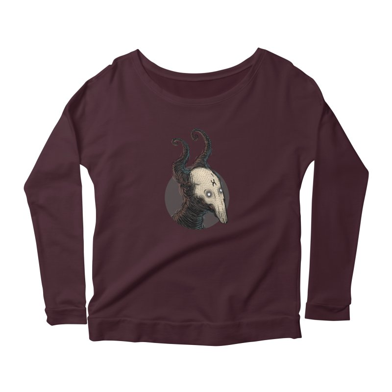 YoungDevilTShi Women's Scoop Neck Longsleeve T-Shirt by creativosindueno's Artist Shop