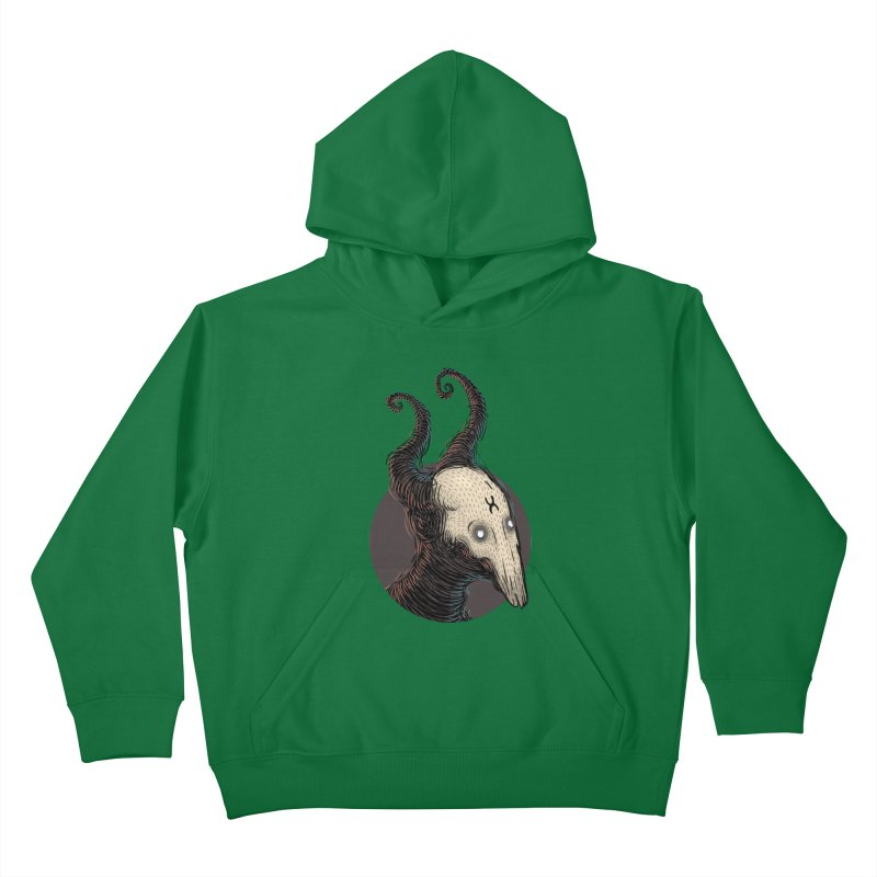 YoungDevilTShi Kids Pullover Hoody by creativosindueno's Artist Shop