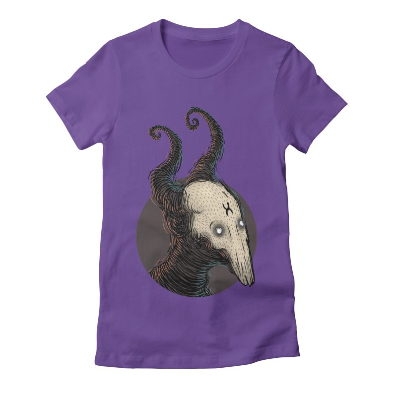 YoungDevilTShi Women's Fitted T-Shirt by creativosindueno's Artist Shop