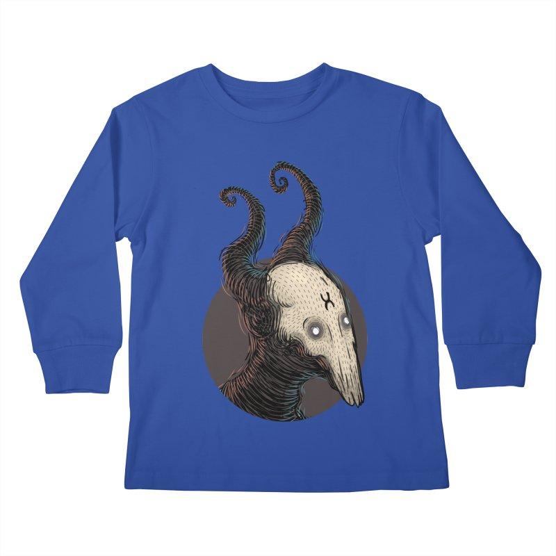 YoungDevilTShi Kids Longsleeve T-Shirt by creativosindueno's Artist Shop