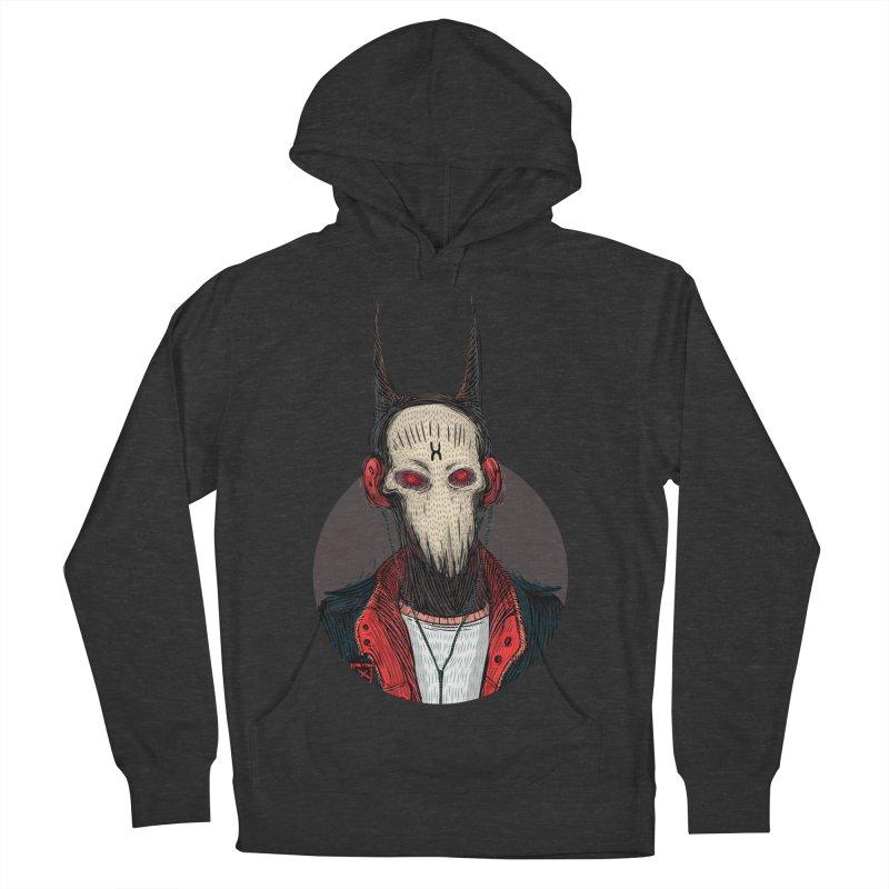 DevilmanTshirts Women's French Terry Pullover Hoody by creativosindueno's Artist Shop