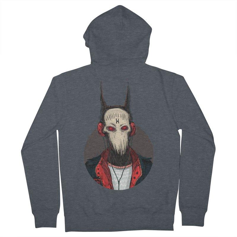 DevilmanTshirts Women's Zip-Up Hoody by creativosindueno's Artist Shop