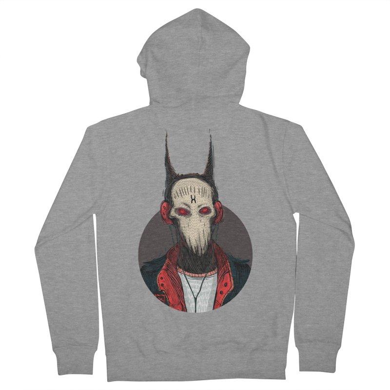 DevilmanTshirts Women's French Terry Zip-Up Hoody by creativosindueno's Artist Shop