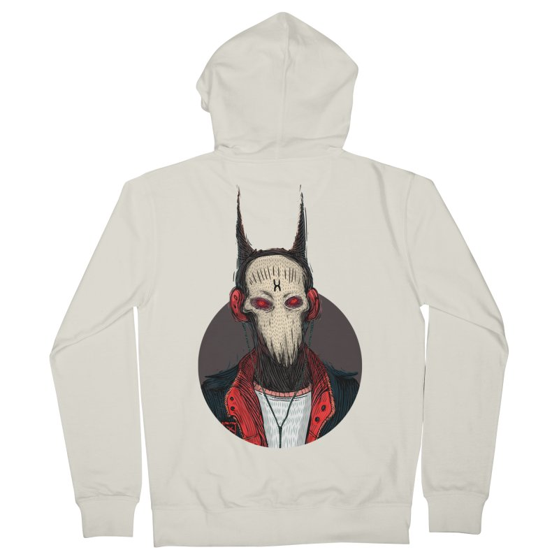 DevilmanTshirts Women's French Terry Zip-Up Hoody by creativosindueno's Artist Shop