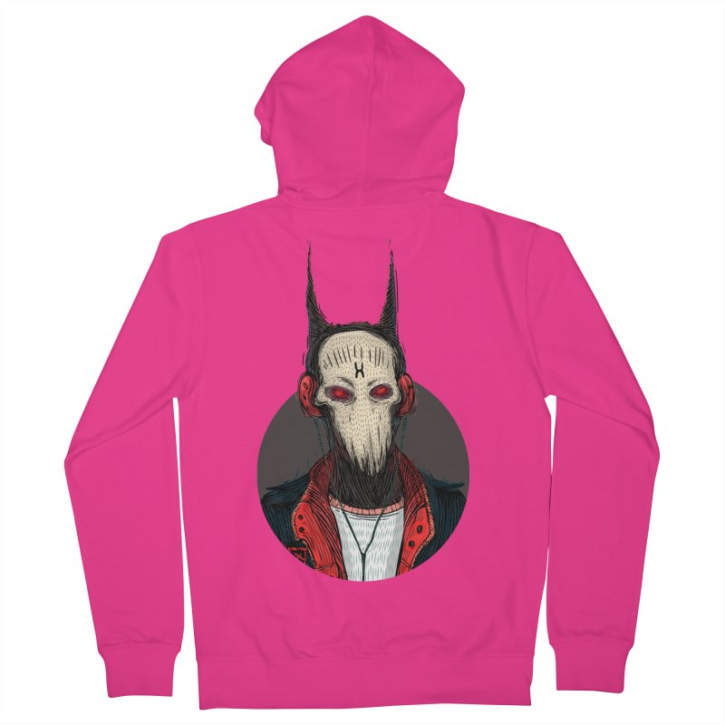 DevilmanTshirts Men's French Terry Zip-Up Hoody by creativosindueno's Artist Shop