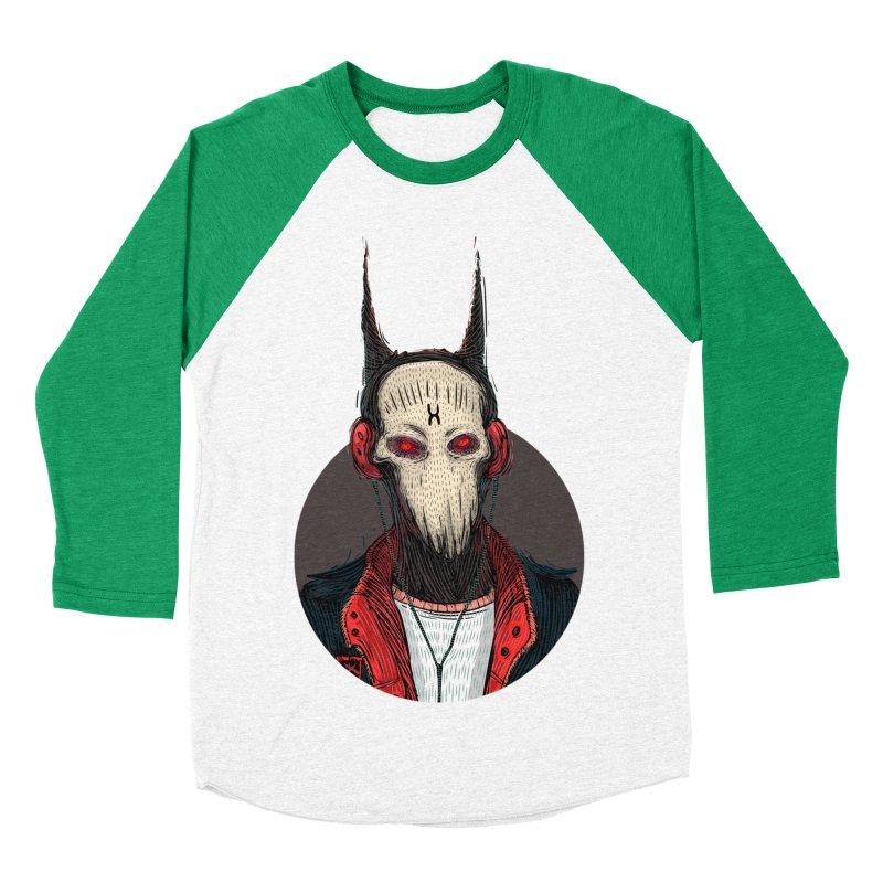 DevilmanTshirts Women's Baseball Triblend Longsleeve T-Shirt by creativosindueno's Artist Shop