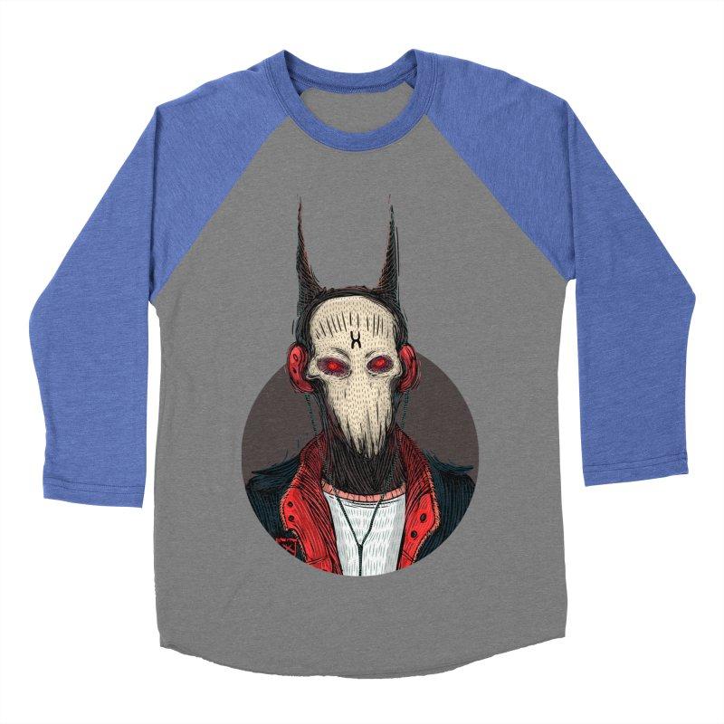 DevilmanTshirts Men's Baseball Triblend Longsleeve T-Shirt by creativosindueno's Artist Shop