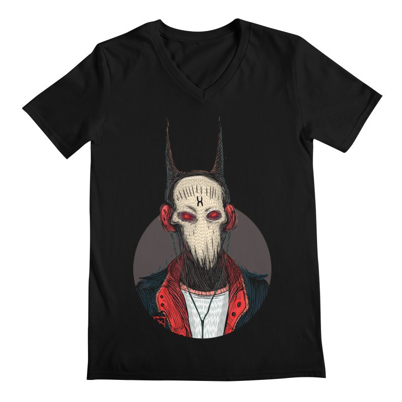 DevilmanTshirts Men's V-Neck by creativosindueno's Artist Shop