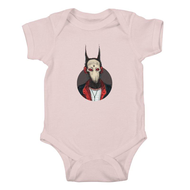 DevilmanTshirts Kids Baby Bodysuit by creativosindueno's Artist Shop