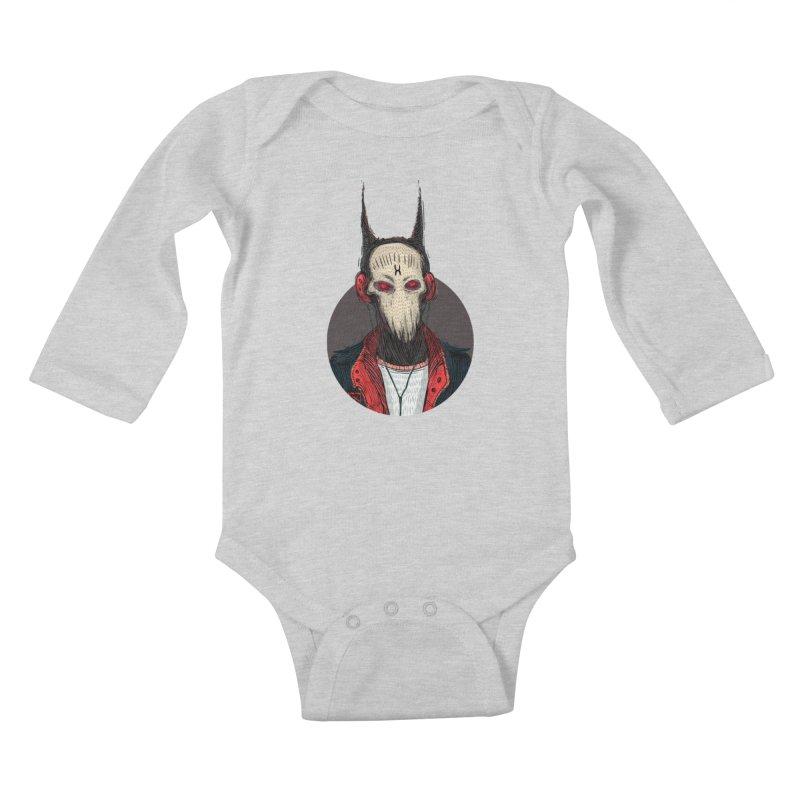 DevilmanTshirts Kids Baby Longsleeve Bodysuit by creativosindueno's Artist Shop