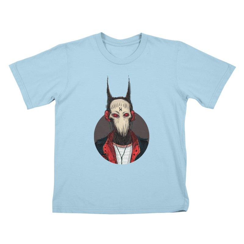 DevilmanTshirts Kids T-Shirt by creativosindueno's Artist Shop