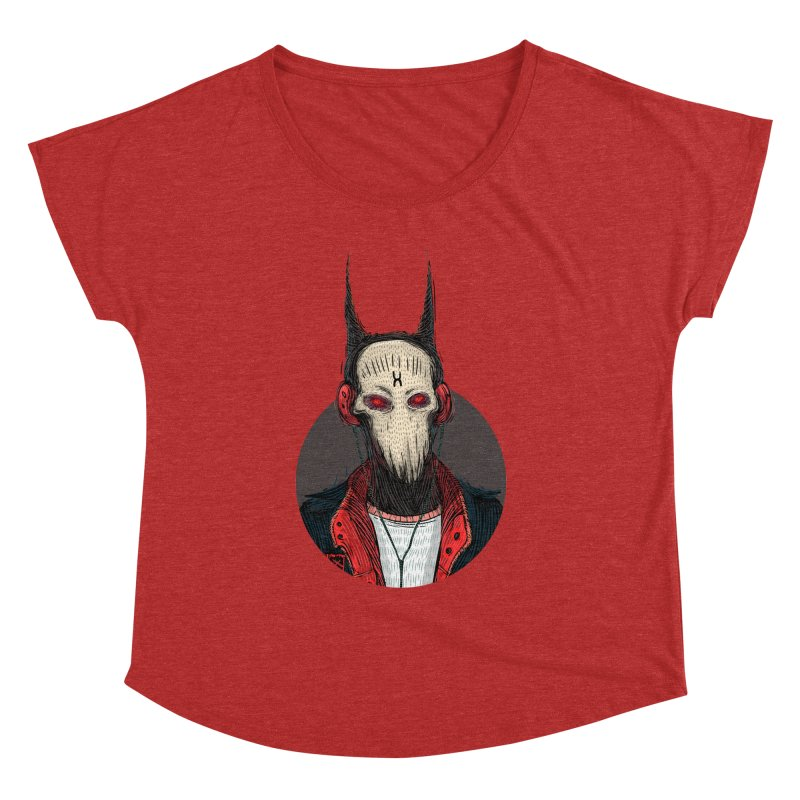 DevilmanTshirts Women's Dolman Scoop Neck by creativosindueno's Artist Shop