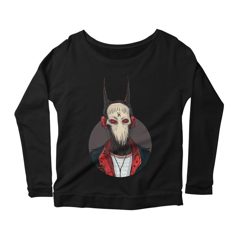 DevilmanTshirts Women's Longsleeve Scoopneck  by creativosindueno's Artist Shop