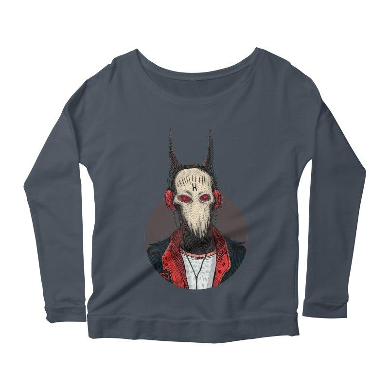 DevilmanTshirts Women's Scoop Neck Longsleeve T-Shirt by creativosindueno's Artist Shop