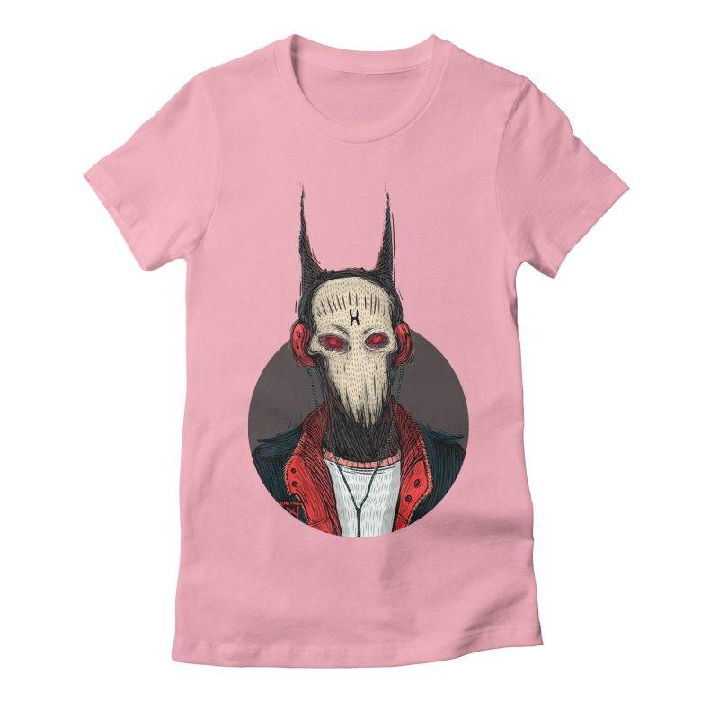DevilmanTshirts Women's Fitted T-Shirt by creativosindueno's Artist Shop