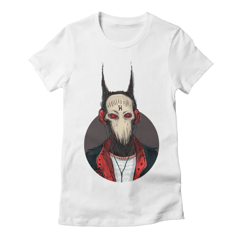 DevilmanTshirts Women's Fitted T-Shirt by creativosindueno's Artist Shop