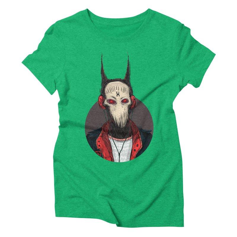 DevilmanTshirts Women's Triblend T-Shirt by creativosindueno's Artist Shop
