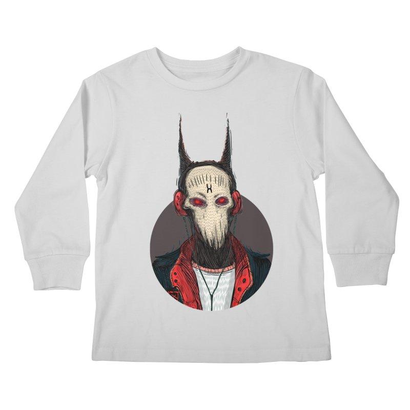 DevilmanTshirts Kids Longsleeve T-Shirt by creativosindueno's Artist Shop