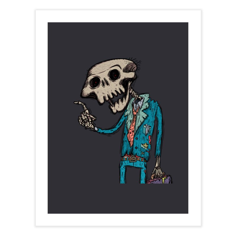 evangelist of death Home Fine Art Print by creativosindueno's Artist Shop