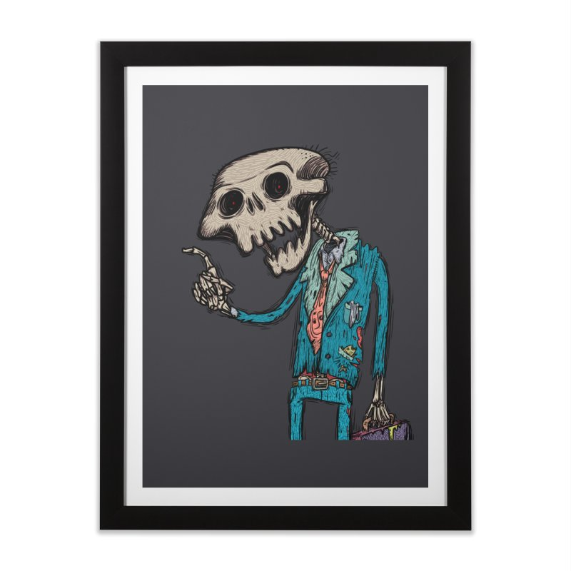 evangelist of death Home Framed Fine Art Print by creativosindueno's Artist Shop