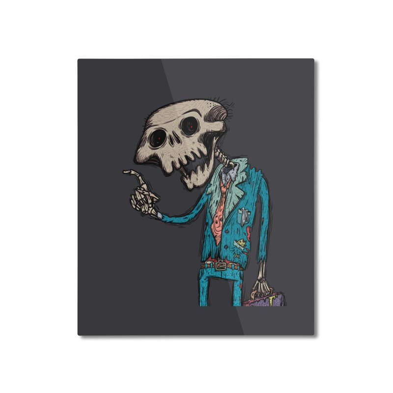 evangelist of death Home Mounted Aluminum Print by creativosindueno's Artist Shop