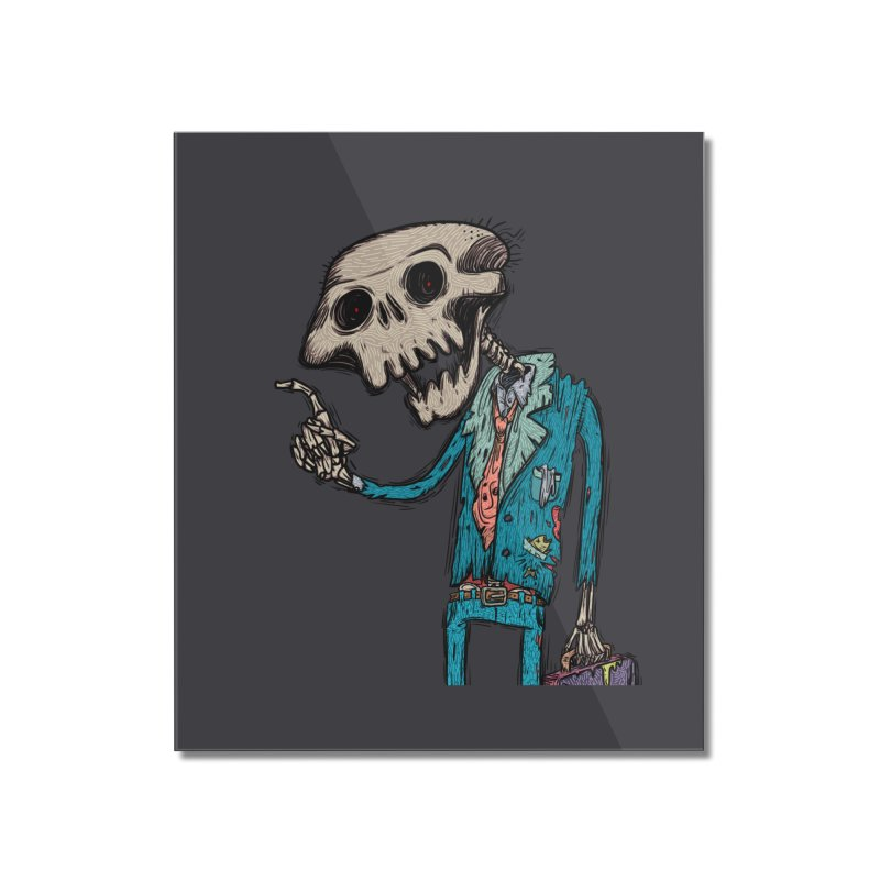 evangelist of death Home Mounted Acrylic Print by creativosindueno's Artist Shop
