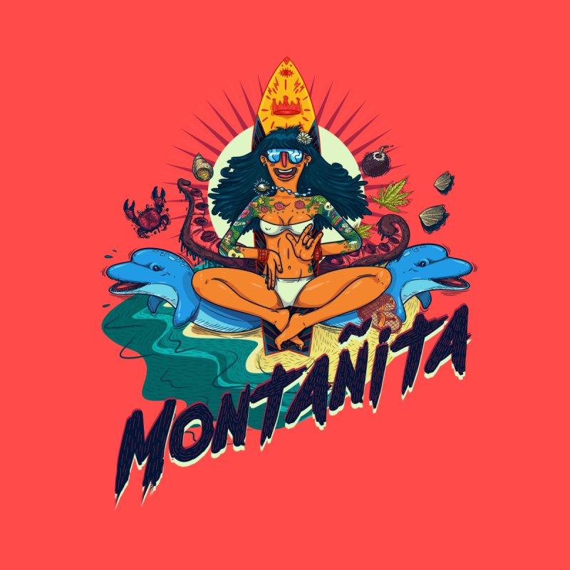 Montañita-print None  by creativosindueno's Artist Shop