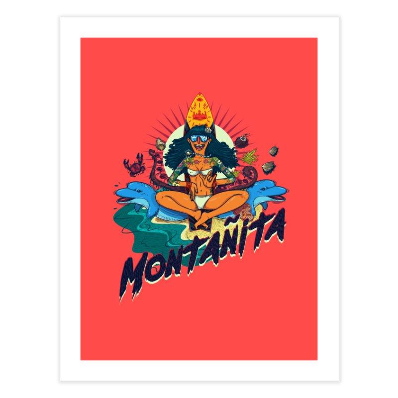 Montañita-print Home Fine Art Print by creativosindueno's Artist Shop