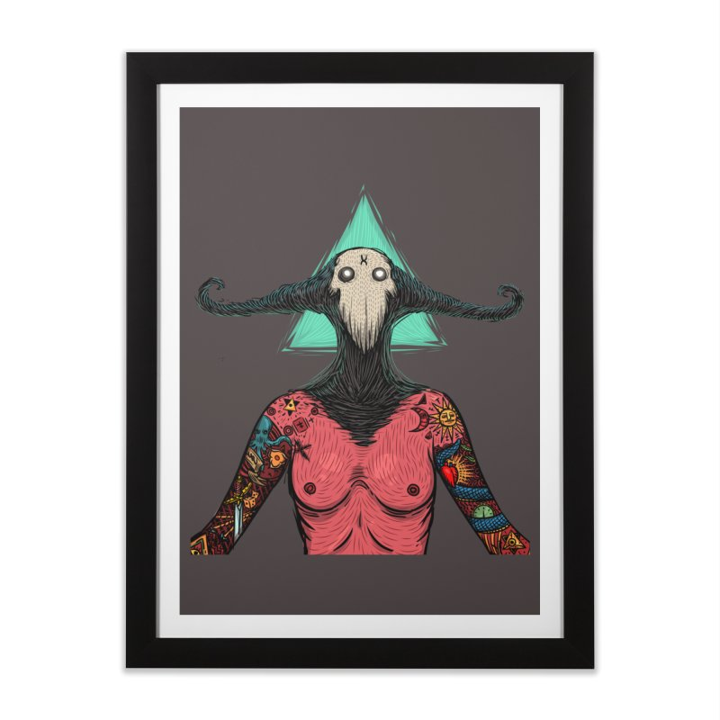 devilwomen print Home Framed Fine Art Print by creativosindueno's Artist Shop