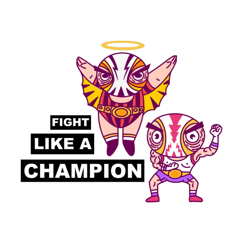 fight like a champion Men's T-Shirt by creativosindueno's Artist Shop