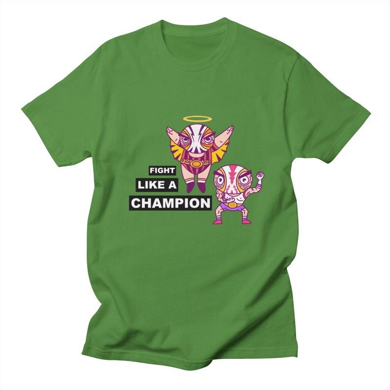 fight like a champion Women's Regular Unisex T-Shirt by creativosindueno's Artist Shop