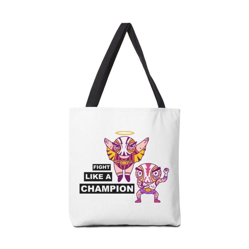 fight like a champion Accessories Bag by creativosindueno's Artist Shop