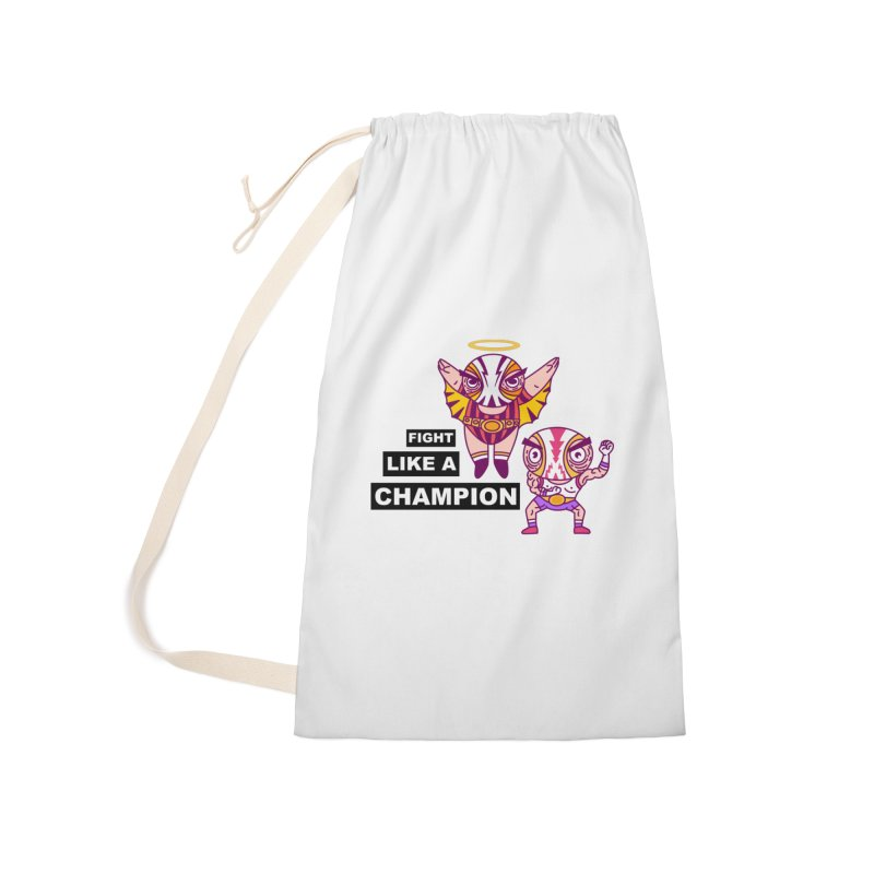 fight like a champion Accessories Laundry Bag Bag by creativosindueno's Artist Shop