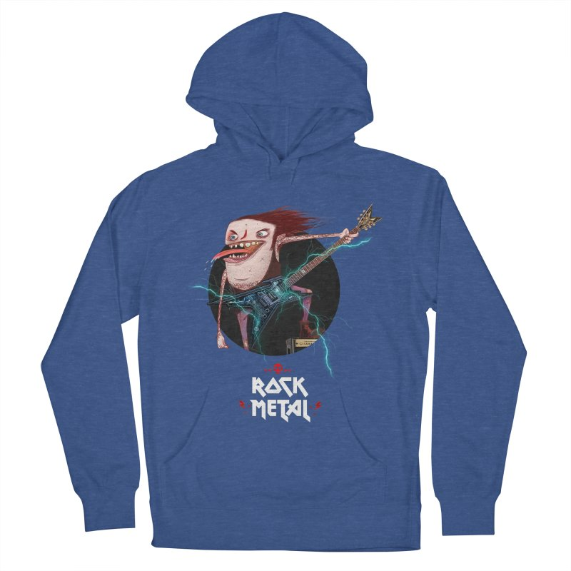 LiveMetalRock Tshirt Women's French Terry Pullover Hoody by creativosindueno's Artist Shop