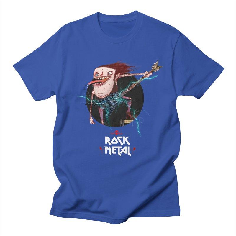 LiveMetalRock Tshirt Men's Regular T-Shirt by creativosindueno's Artist Shop
