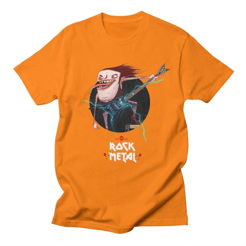 LiveMetalRock Tshirt Women's Regular Unisex T-Shirt by creativosindueno's Artist Shop