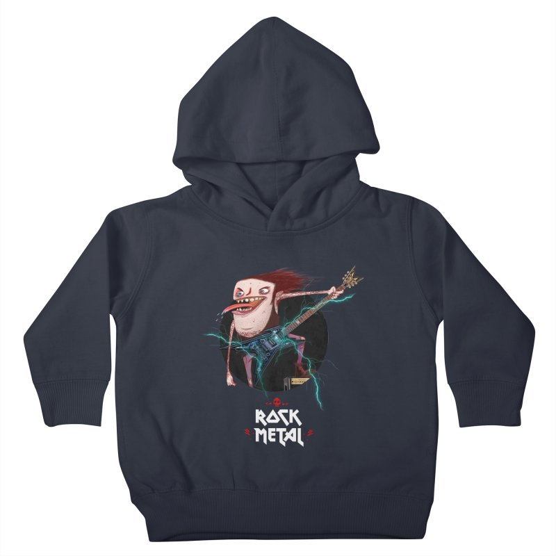 LiveMetalRock Tshirt Kids Toddler Pullover Hoody by creativosindueno's Artist Shop