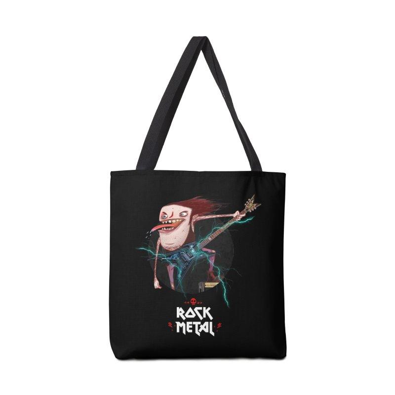 LiveMetalRock Tshirt Accessories Bag by creativosindueno's Artist Shop