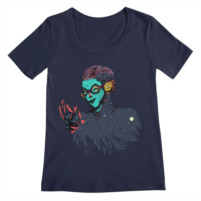 THE FUTUTTURE Tshirt Women's Regular Scoop Neck by creativosindueno's Artist Shop
