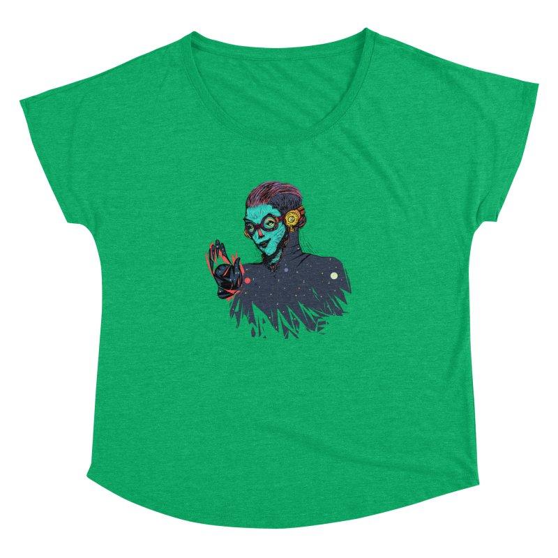 THE FUTUTTURE Tshirt Women's Dolman Scoop Neck by creativosindueno's Artist Shop