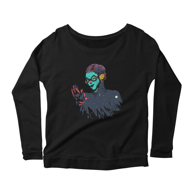 THE FUTUTTURE Tshirt Women's Longsleeve Scoopneck  by creativosindueno's Artist Shop