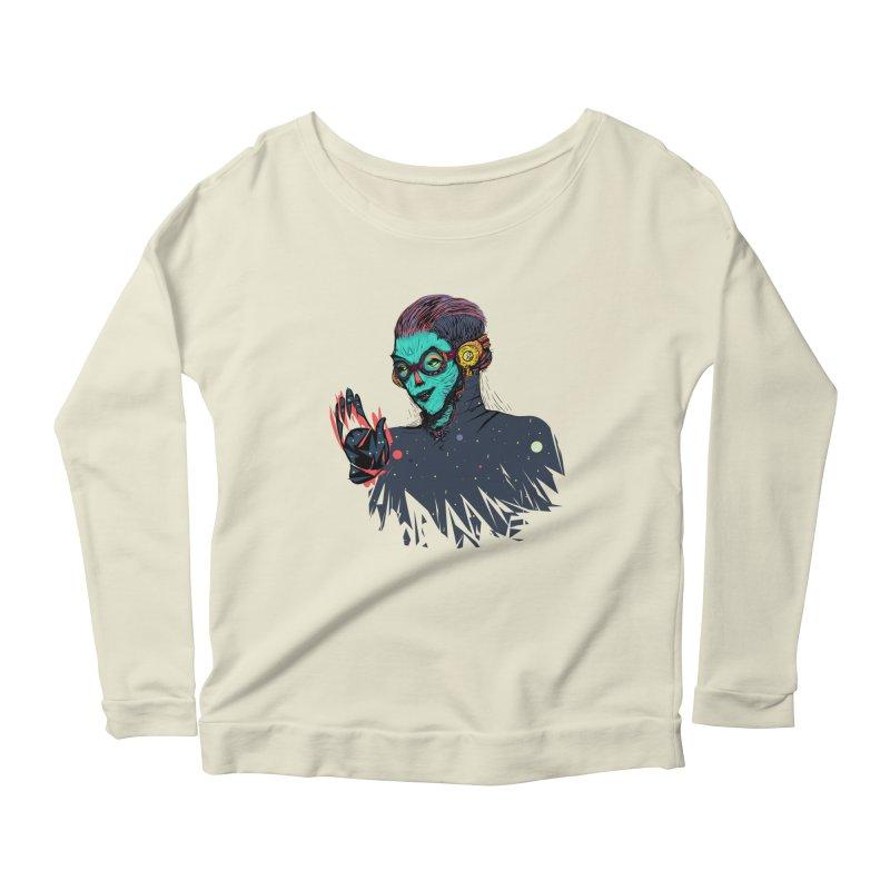 THE FUTUTTURE Tshirt Women's Scoop Neck Longsleeve T-Shirt by creativosindueno's Artist Shop