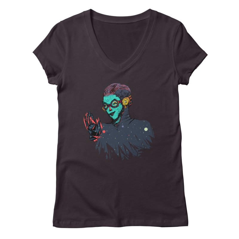 THE FUTUTTURE Tshirt Women's Regular V-Neck by creativosindueno's Artist Shop