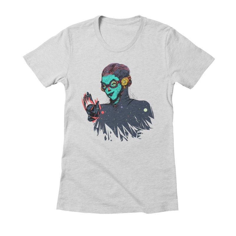 THE FUTUTTURE Tshirt Women's Fitted T-Shirt by creativosindueno's Artist Shop