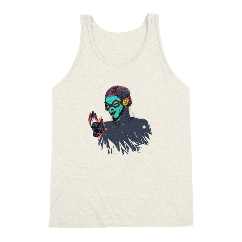 THE FUTUTTURE Tshirt Men's Triblend Tank by creativosindueno's Artist Shop